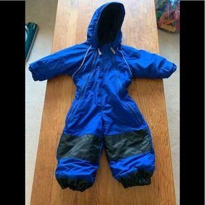 MEC Toaster Suit Snowsuit One Piece Blue 2T